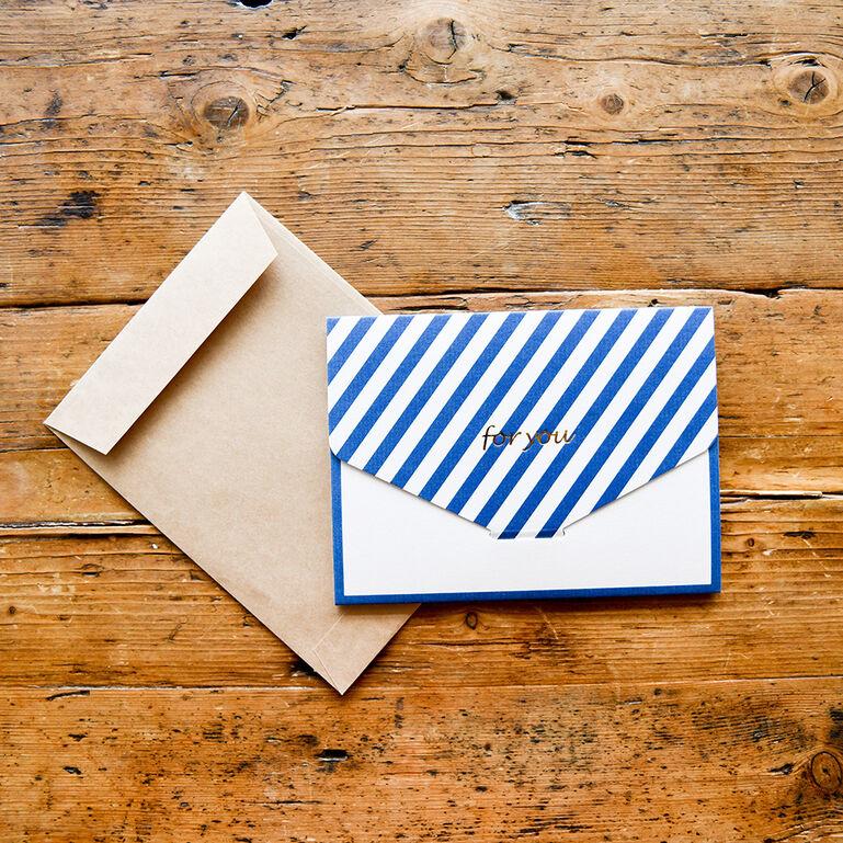 Photo Gift Wrap WH L ストライプ