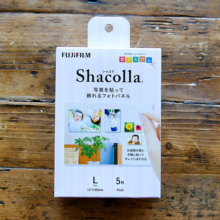 シャコラ(shacolla) 壁タイプ 5枚パック Lサイズ