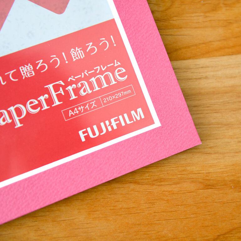 ペーパーフレーム ピンク A4