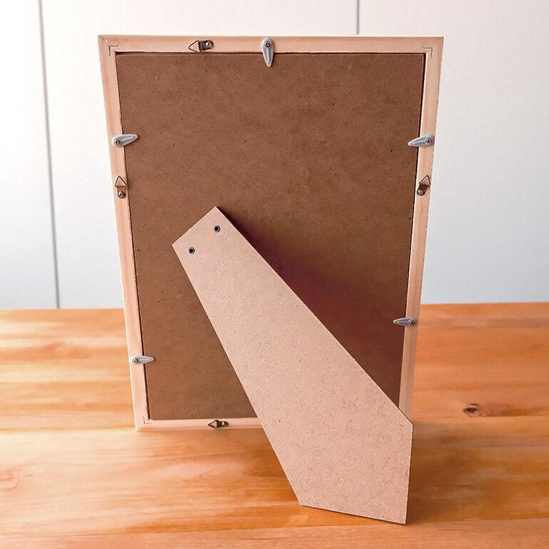 A4シャッフルプリント推奨木製フレーム(アクアブルー)