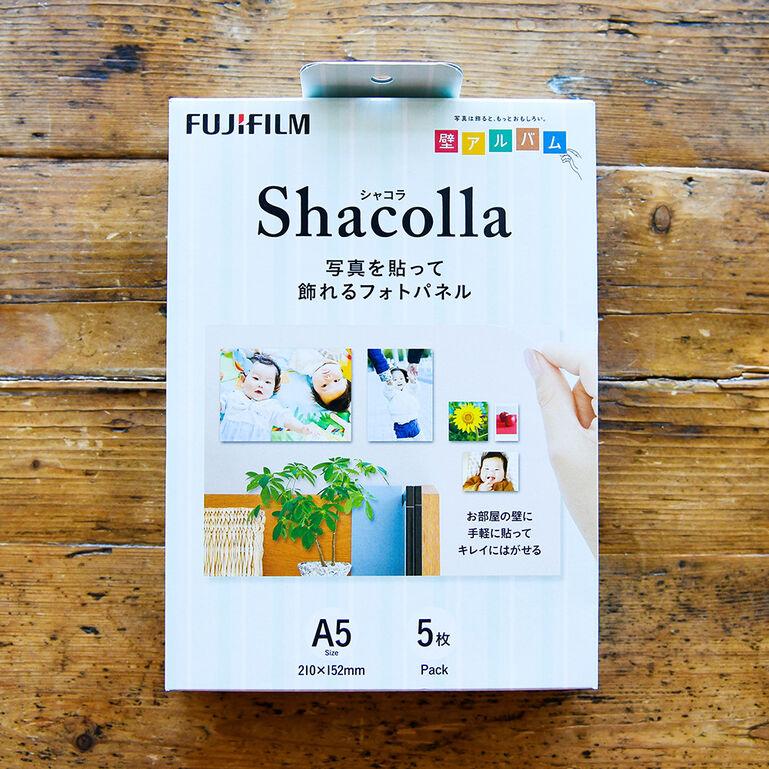 シャコラ(shacolla) 壁タイプ 5枚パック A5サイズ
