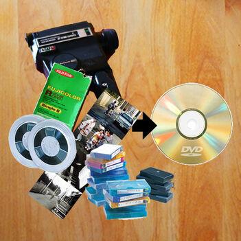 DVDにダビングサービス