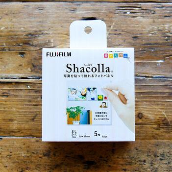シャコラ(shacolla) 壁タイプ 5枚パック ましかくサイズ(89×89mm)