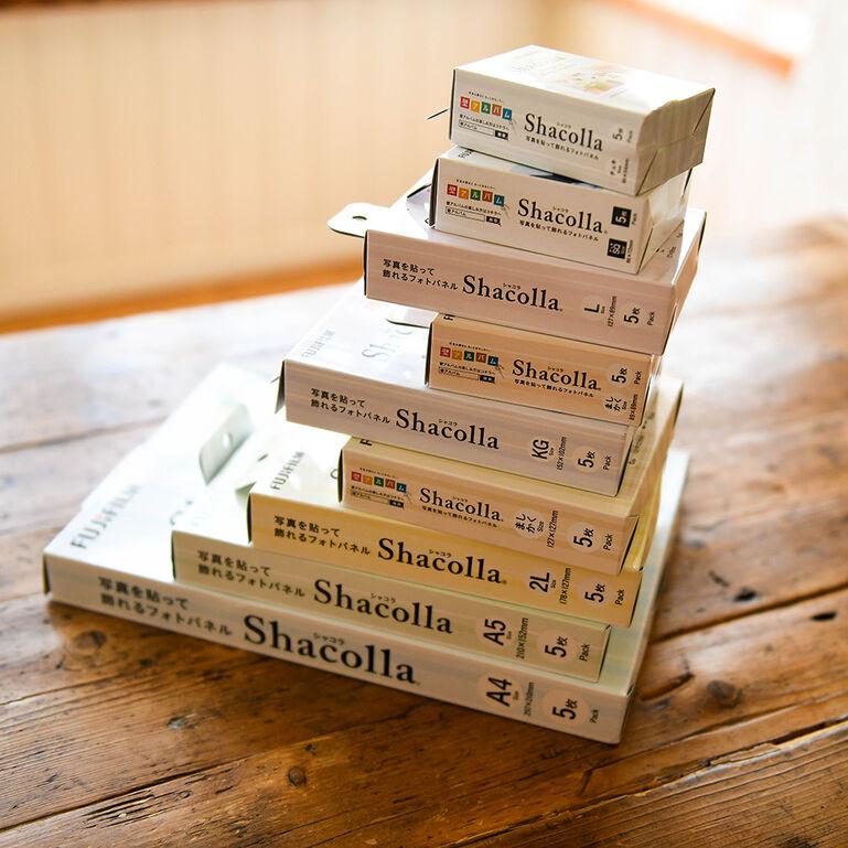 シャコラ(shacolla) 壁タイプ 5枚パック チェキサイズ
