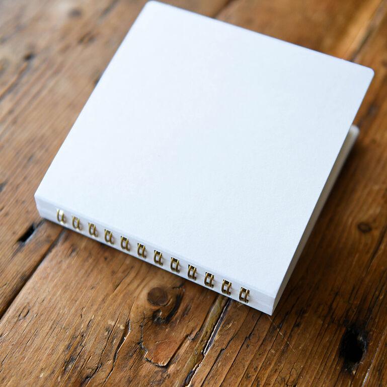 ましかくプリント用ポケットアルバム 20EX 127×127mm ホワイト
