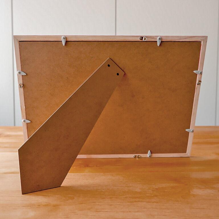 4切ワイドシャッフルプリント推奨木製フレーム(レッド)