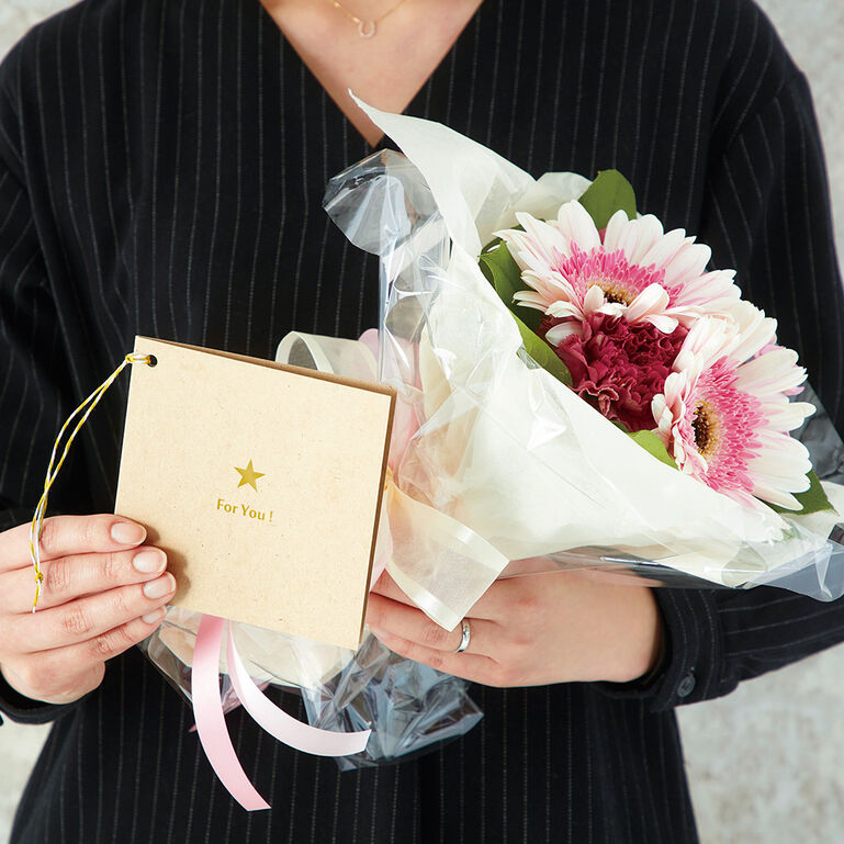 Photo Gift Tag KF Foryouスター ましかくサイズ(89×89mm)用
