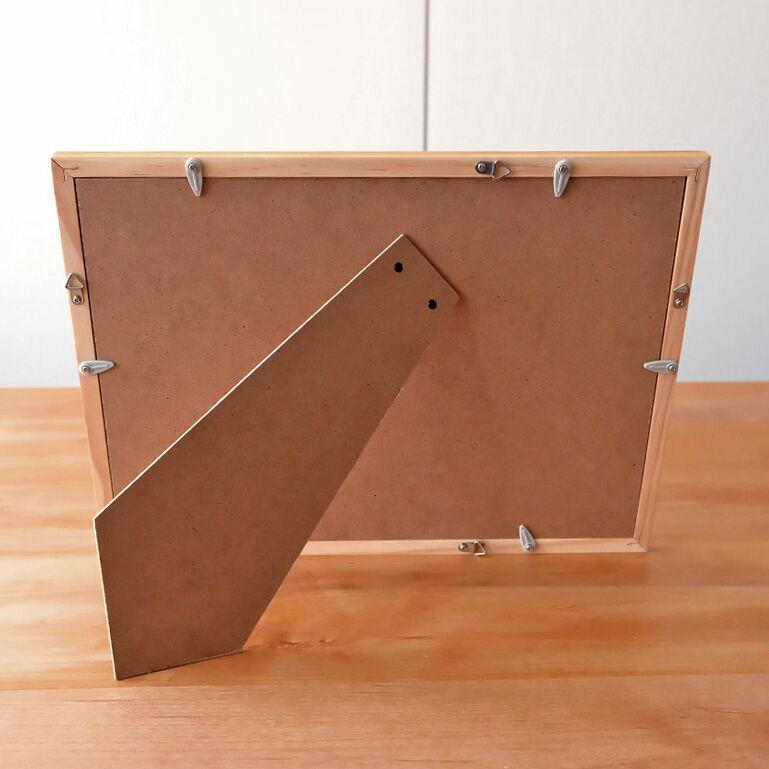 A4シャッフルプリント推奨木製フレーム(ナチュラル)