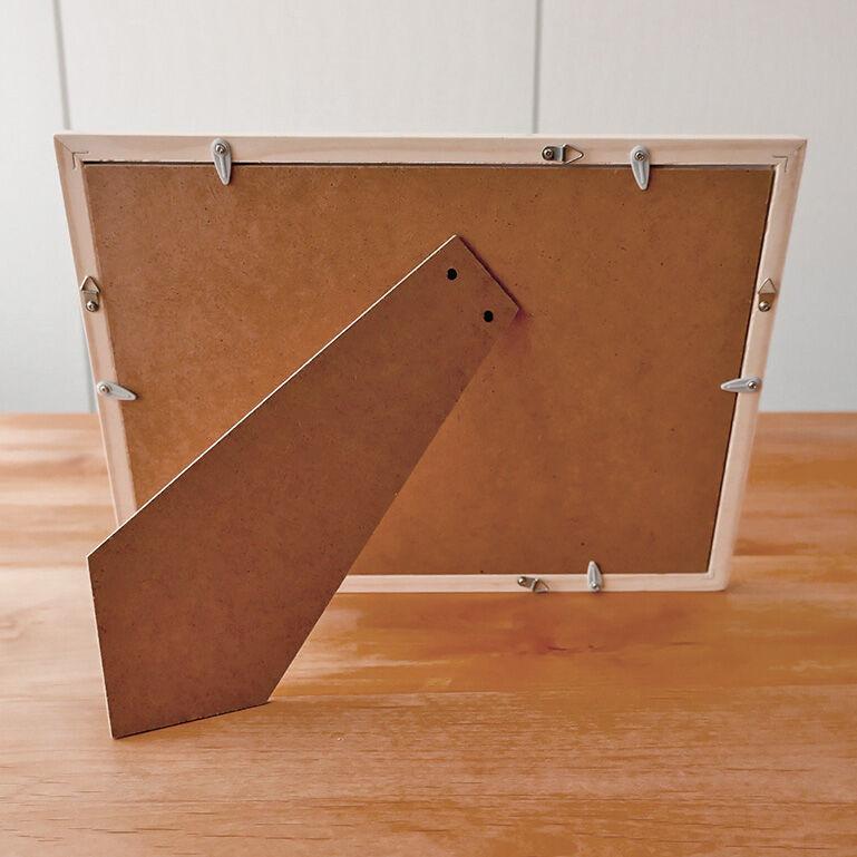 A4シャッフルプリント推奨木製フレーム(ホワイト)
