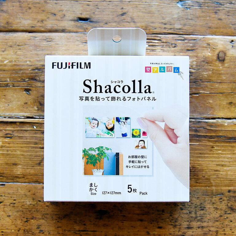 シャコラ(shacolla) 壁タイプ 5枚パック ましかくサイズ(127×127mm)