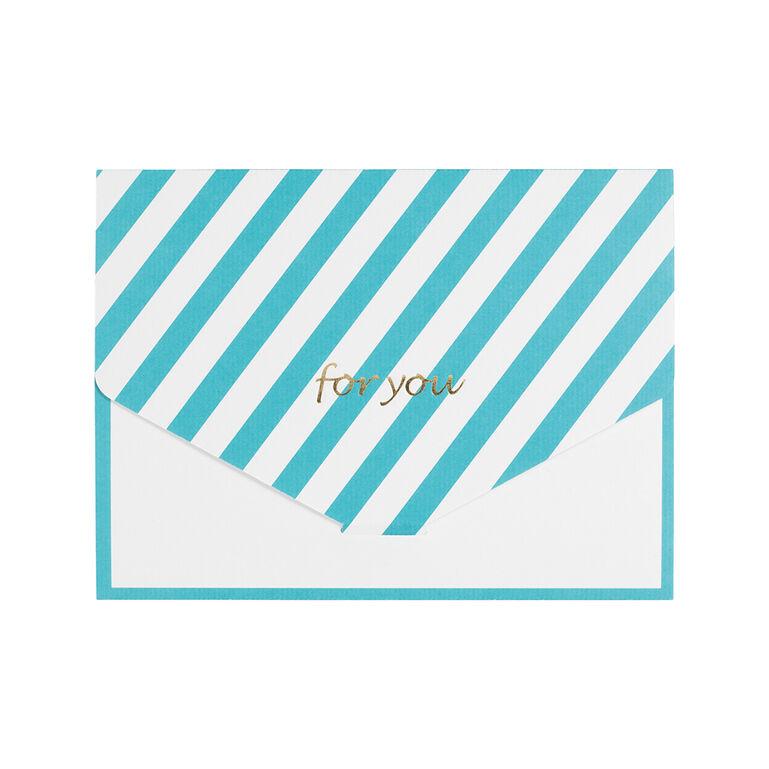 Photo Gift Wrap WH 2L ストライプ