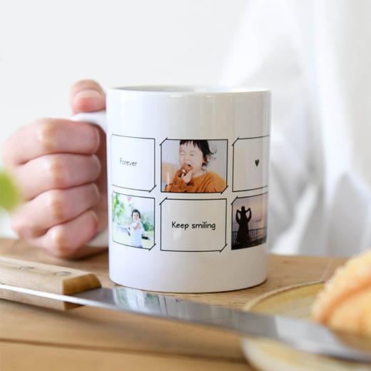 写真:オリジナルマグカップ